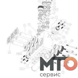 ГИДРОБЛОК hydroblock 3 дюйма КОМПЛЕКТУЮЩИЕ P60 30 000