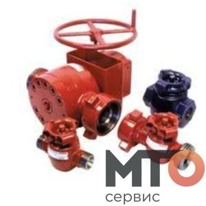 Задвижки пробковые КВД cork gate valve