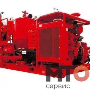 ACS lV 300 Миксер скид