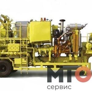 PCTLR 521A Двухнасосный цемент агрегат Serva