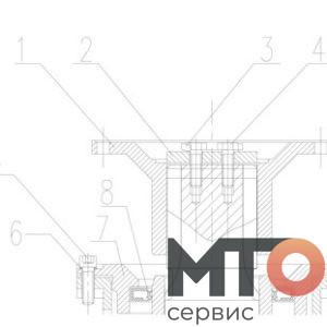 Pump Maintenance Масляной Насос TPH400 pumpSJS
