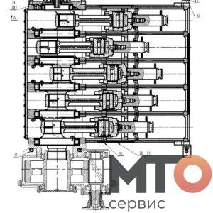 Силовая часть Power part KTZ1000 PETRO KH