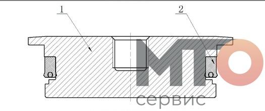 Крышка на всасе Suction cover KTZ1000 PETRO KH