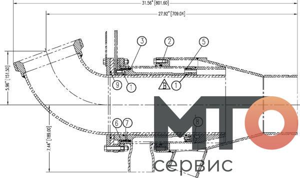 B10-12-059 миксер ремкомплект Serva