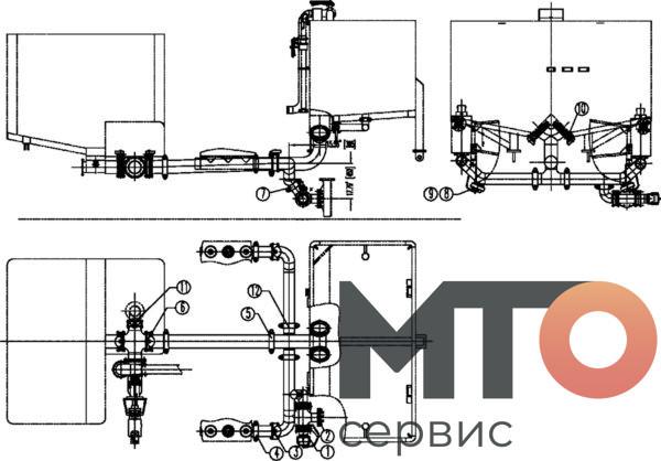 Система мерного резервуара PCS-621A Serva