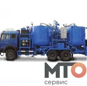BACT-300-100A Батч-миксер на шасси