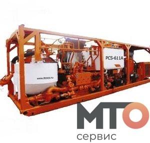 PCT-611A Однонасос цем агрегат на шасси IVECO 6-6