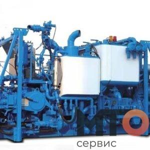 PCS-521B Двухнасосный цем агрегат