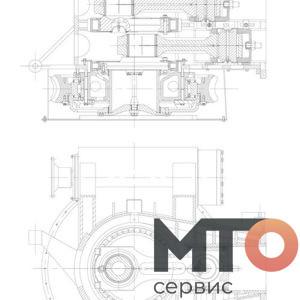 left end driver Водитель левого конца P40-14-300 TPH400 pumpSJS