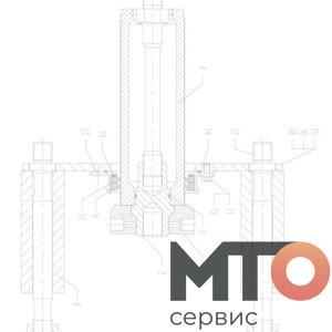 SPACER STEEL PLATES TUBER ПРОКЛАДКА ПЛАСТИНЫ ТРУБКИ TPH400 pumpSJS
