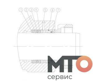 PACKING УПАКОВКА SPS В СБОРЕ TPH400 pumpSJS