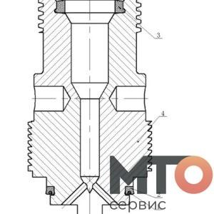 Измерительный патрубок Measuring pipe KTZ1000 PETRO KH