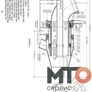 B10-12-400 Миксер струйный смеситель Serva